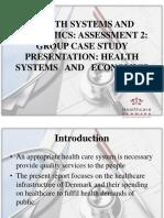 Case Study Healthcare and Economics