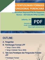 Penyusunan Formasi JFP