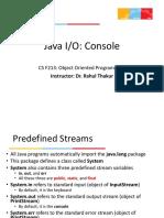 L21- Java IO Console