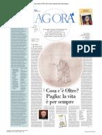 Avvenire Agora Raul Gabriel _ Il Gioco Il Rigore Riace e Altre Storie 04 12 2018