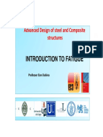 Fatigue of Structures