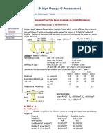 Prestressed Concrete Beam Design to BS 5400 Part 4