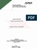 014747,Kozan Ilçesinin Beşeri Ve Ekonomik Coğrafyası Nüfus, Yerleşme Ve Ekonomik Özellikler