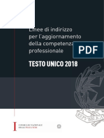 CNI - Linee di indirizzo per l'aggiornamento della Competenza Professionale - Testo Unico 2018.pdf