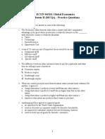 ECON 04310 Midterm II (MCQ) Study Guide