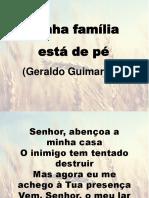 Minha família está de pé - Geraldo Guimarães