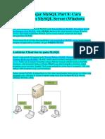 Tutorial Belajar MySQL