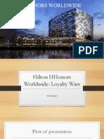 Hilton Hhonors Worldwide