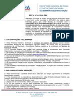 1356088 Edital Processo Seletivo 012018 PMP