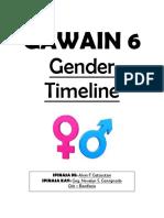 Gawain 6. Gender Timeline