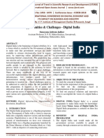 Opportunities and Challenges - Digital India