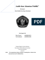Resume the Organizational Culture of Public Accounting Firms