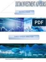 Stock to Watch Daily 06dec2018