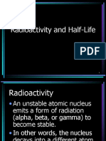 Radioactivity and Half-Life