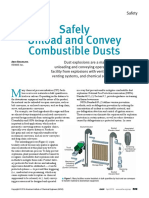 Safely Convey Combustible Dusts