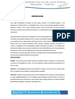 Memoria Anual Ejercicio Fiscal 2017