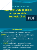 Internal Analysis Strategy Fall 2018