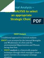 Internal Analysis Strategy Fall 2018