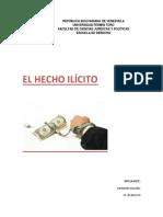 Derecho Civil. Hecho Ilicito