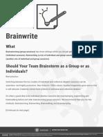 Brain Write