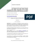 Ley 25344 Emergencia Economico- Financiera