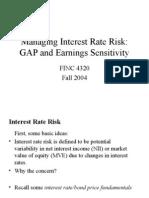 11-Managing Interest Rate Risk GAP
