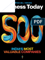 500 India's Most Valuable Companies 2018
