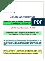 Ley de Trafico Comentada 01.10.2018