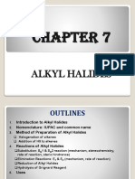 CHAPTER 6 Alkyl Halides and Aryl Halides