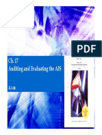 Ch.17 - Auditing and Evaluating the AIS