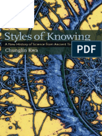 Chunglin KWA-STYLES OF KNOWING_A New History of Science from Ancient Times to the Present (2011, University of Pittsburgh Press).pdf