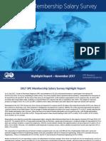 2017 Salary Survey Highlight Report