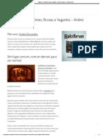 Kalciferum - Demônios, Bruxas e Vagantes - Andrei Fernandes - Penumbra Livros