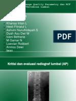 Kritisi Dan Evaluasi RCF Vertb Lumbal Kel.3