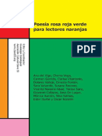 eBook en PDF Poesia Rosa Roja Verde Para Lectores Naranjas