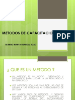 Metodos de Capacitacion Externa