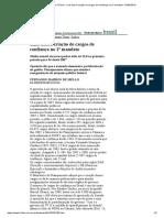 Folha de S.paulo - Lula Dobra Criação de Cargos de Confiança No 2º Mandato - 01-02-2010