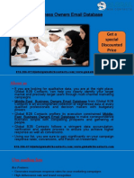 Middle-East Business Owners Email Database