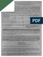 Acta de visita de la Fiscalía pidiendo soportes de campaña de Gustavo Petro