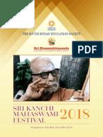 Sri Kanchi Mahaswami Festival 18