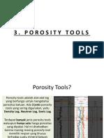 3. Porosity Tools