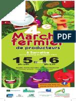 Programme du Marché de Noël des producteurs de Sarralbe 2018