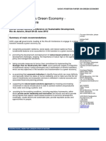 Position Paper on Green Economy 22march2012