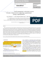 6199 Project Governance Benefit Management Project Success Framework Supporting Organizational Strategy Implementation