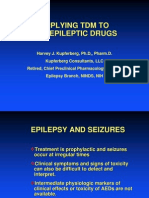 Applying TDM to Anti Epileptic Drugs
