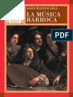JWHill La Musica Barroca