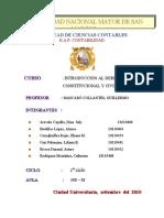 RÉGIMEN ECONOMICO GRUPO Nª 05