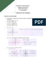 Funzioni in 2 Variabili