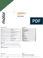 Moto E4 Plus Manual