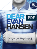 Dear Evan Hansen Piano Vocal Score